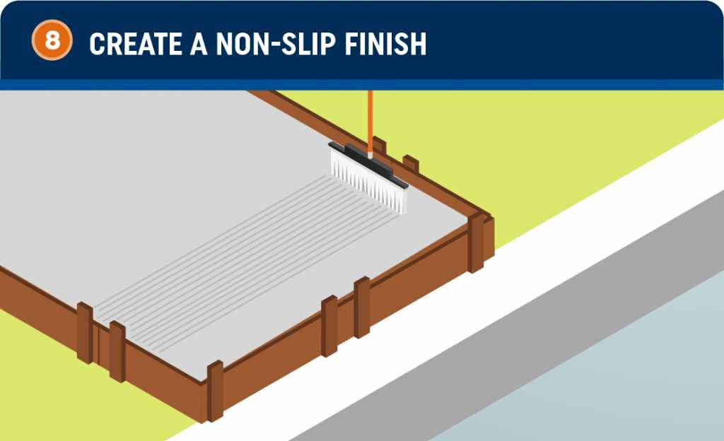 create a non slip finish