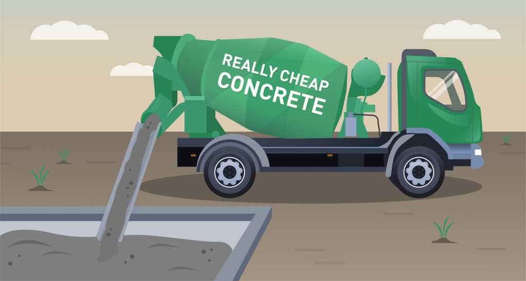 Dangers of using bad quality concrete