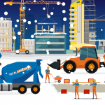 Total Concrete at Winter Christmas